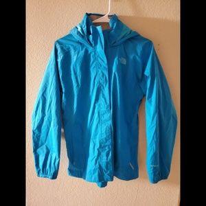 The North Face Girls Hooded Windbreaker Jacket